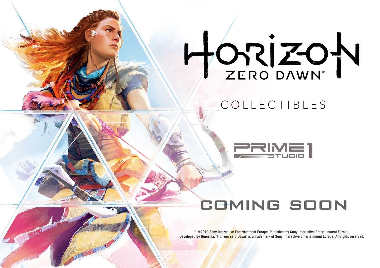 Des objets de collection chics Horizon Zero Dawn seront à l'honneur